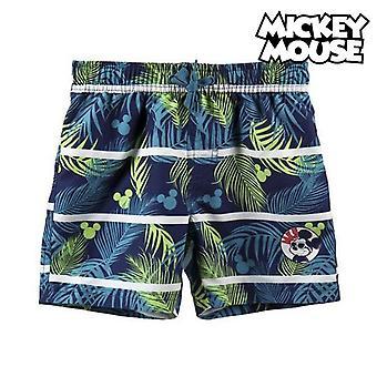 Kinderbadkostuum Mickey Mouse Blauw