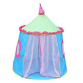 Kids Play Tent For Girls Boys, Oxford Fabric Princess Playhouse(BLUE)
