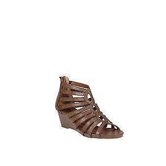 White Mountain   Victoria Gladiator Wedge Sandal
