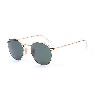 Ray-Ban Round Metal Sunglasses - Gold