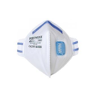 Portwest FFP2 Valved Fold Flat Respirator P251