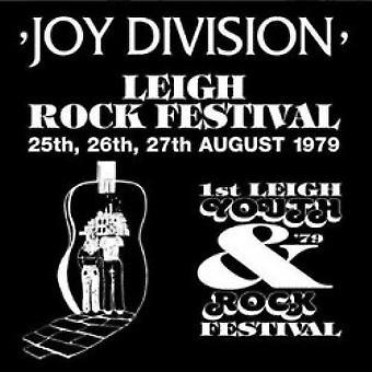 Joy Division – Leigh Rock Festival Vinyl