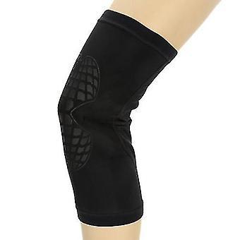Koripalloharjoittelu auttaa urheilu elastinen jalkatuki kääresuoja tyyny polvisuoja juoksu koripallon