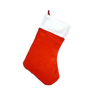 LAST FEW - 40cm Felt Christmas Stocking