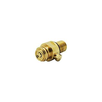 Cylinder CO2 Refill Adapter Converter M18x1.5 to TR21-4