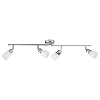 Loftslampe med lampeskærm