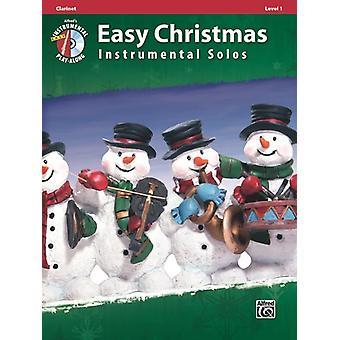 Helppo joulu Instrunmental Solos Klarinetti kirja & CD