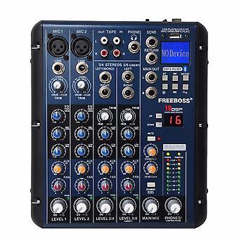 Dsp Effect Usb Professional Audio Mixer