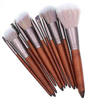 Makeup brushes high quality synthetic hair makeup brush set 11pcs