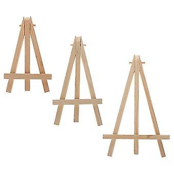 Scandinavische stijl natuurlijke milieuvriendelijke houten mini ezels (7x12 cm)