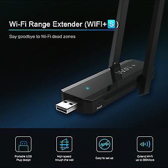 Usb 2.0 vezeték nélküli wifi repeater Wifi Range Extender 300mbps Dual Aerial