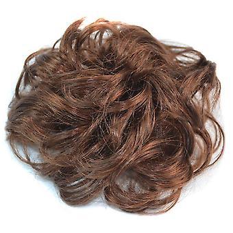 Hair Pack Fluffy Culred Light Brwon Pruik