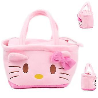 Hello Kitty model de pluș cartoon geantă de mână