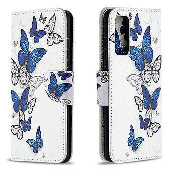 Samsung Galaxy S20 Fe Fall Muster viele Schmetterling