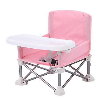 bærbar sammenleggbar barn spisestue stol med skuff justerbar aluminium legering plen stranden avtakbar