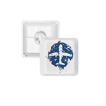 Sinisen taso - Keycap-näppäimistö