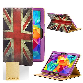 Design Buch Case Cover für Samsung Galaxy Tab S 8,4-Zoll Tablet - Union Jack