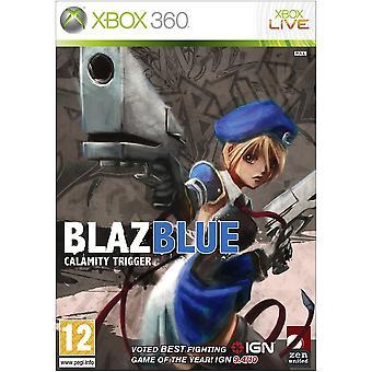 BlazBlue Calamity Trigger Xbox 360 Game