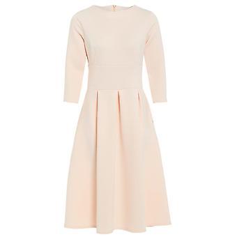 Love2Dress 3/4 mouw Midi Skater jurk