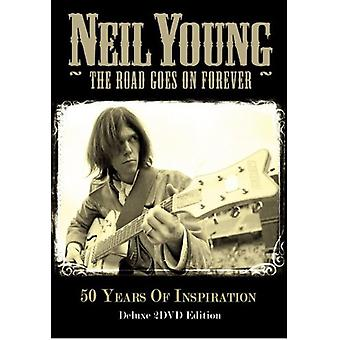 Neil Young - Road Goes on Forever [DVD] USA import