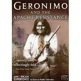 Geronimo & the Apache Resistance [DVD] USA import