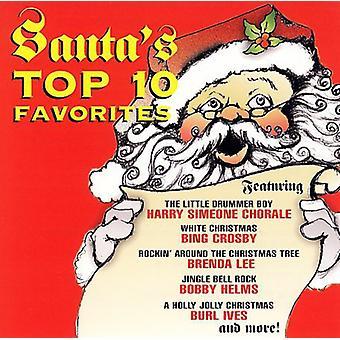 Santa's Top 10 Favorites - Santa's Top 10 Favorites [CD] USA import