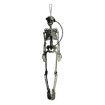 Posable Hanging Steampunk Skeleton 36 inch