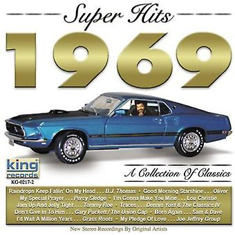 Super Hits 1969 - Super Hits 1969 [CD] EUA importar