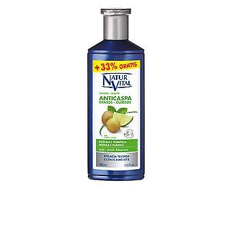Naturaleza Y Vida Shampoo Anticaspa Cabello Graso 300 + 100 Ml Unisex