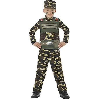 Costumes enfants camouflage costume de l'armée pour les garçons
