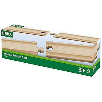 BRIO wereld spoor - middellange Straights