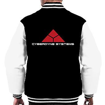 Terminator Cyberdyne Systems Men's Varsity Jacket