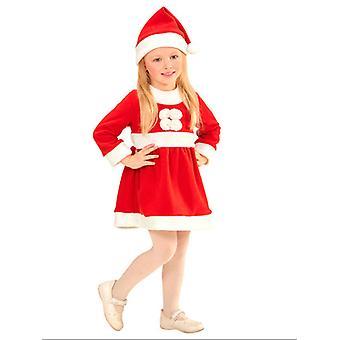 Santa tyttö (pukeutua hattu) Lasten