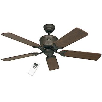 Energy-saving ceiling fan Eco Elements Brown with remote