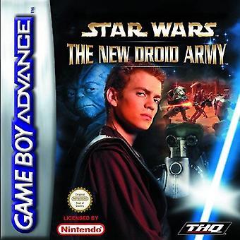 Star Wars Episodio II - il nuovo esercito di droidi GBA gioco (Game Boy Advance)
