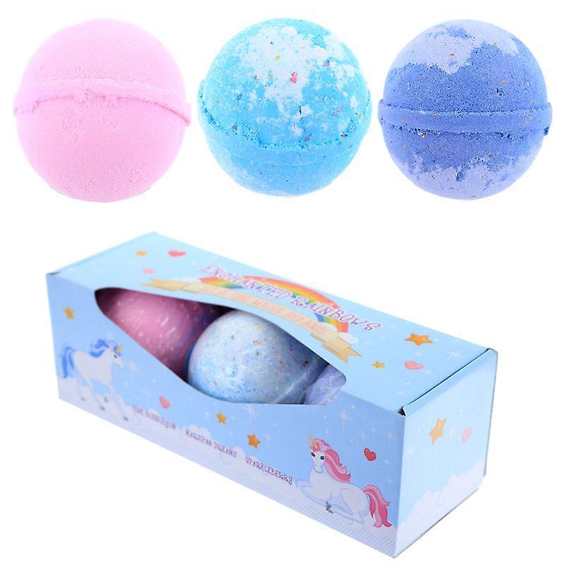 Enchanted Rainbow Unicorn Bath Bombs