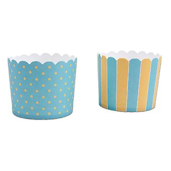 Babyballoon baby party muffin cups 6,1Ø 12 piece children birthday theme party