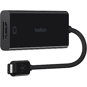 Belkin USB / HDMI Adapter [1x USB-C plug - 1x HDMI socket] Black 15.00 cm