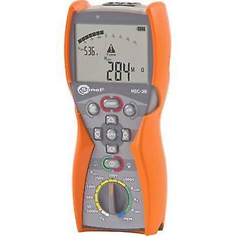Testador de isolamento Sonel MIC-30 Calibrado para (padrões ISO) 50 V, 100 V, 250 V, 500 V, 1000 V 100 GΩ