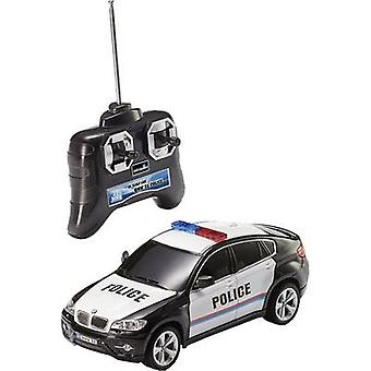 Revell kontrol 24655 BMW X 6 politi 1:24 RC model bil for begyndere elektrisk Road version RWD