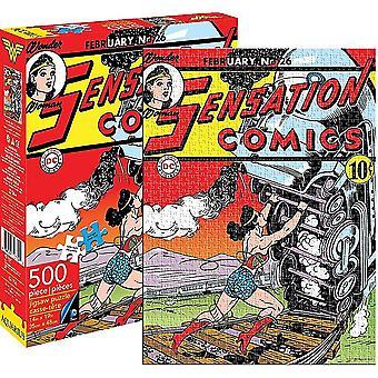 Wonder Woman sensasjon tegneserier 500 stykke puslespill (62106)