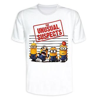 Despreciable me parte 2 camiseta los sospechosos inusuales (secuaces)