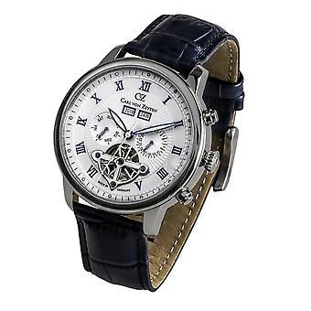 Carl of Zeyten men's watch wristwatch automatic Bonndorf CVZ0053WH