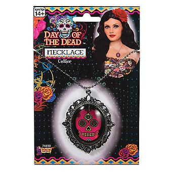 Bnov Day Of The Dead Necklace, Halloween