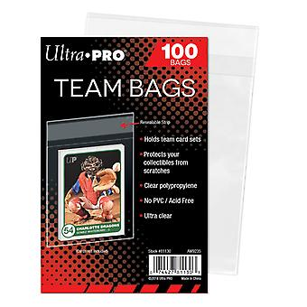Ultra Pro Team/Set Bags poches en plastique refermables 100-Pack
