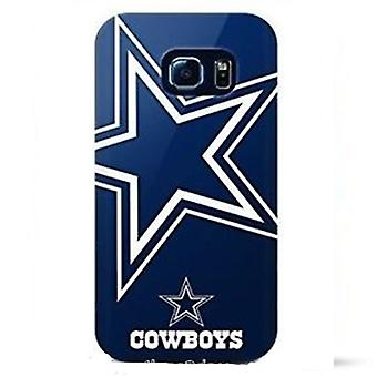 5 Pack -Mizco Sports NFL Oversized TPU Case for Samsung Galaxy S6 Edge (Dallas Cowboys)