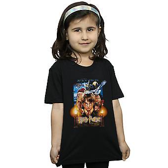 T-shirt pietra Poster di Harry Potter ragazze lo stregone