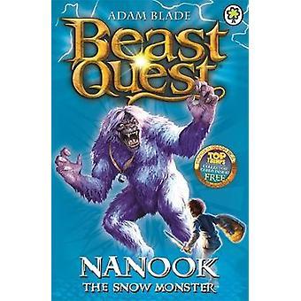 Nanook, o monstro de neve por Adam Blade - livro 9781846164859