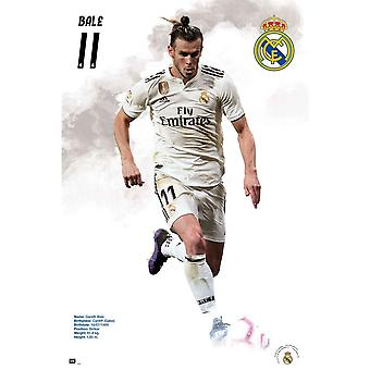 Real Madrid CF Bale Poster