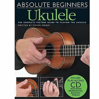 Absolute Beginners Ukulele 1 Book & CD